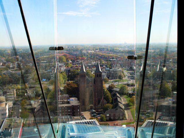 eusebiuskerk arnhem balkon glas