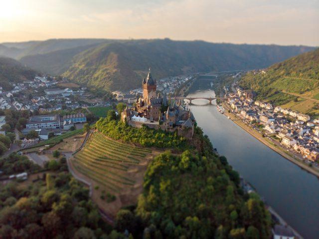 Rijksburcht Cochem: hoogtepunt in de Moezelstreek