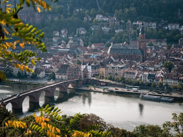 heidelberg bezienswaardigheden stad